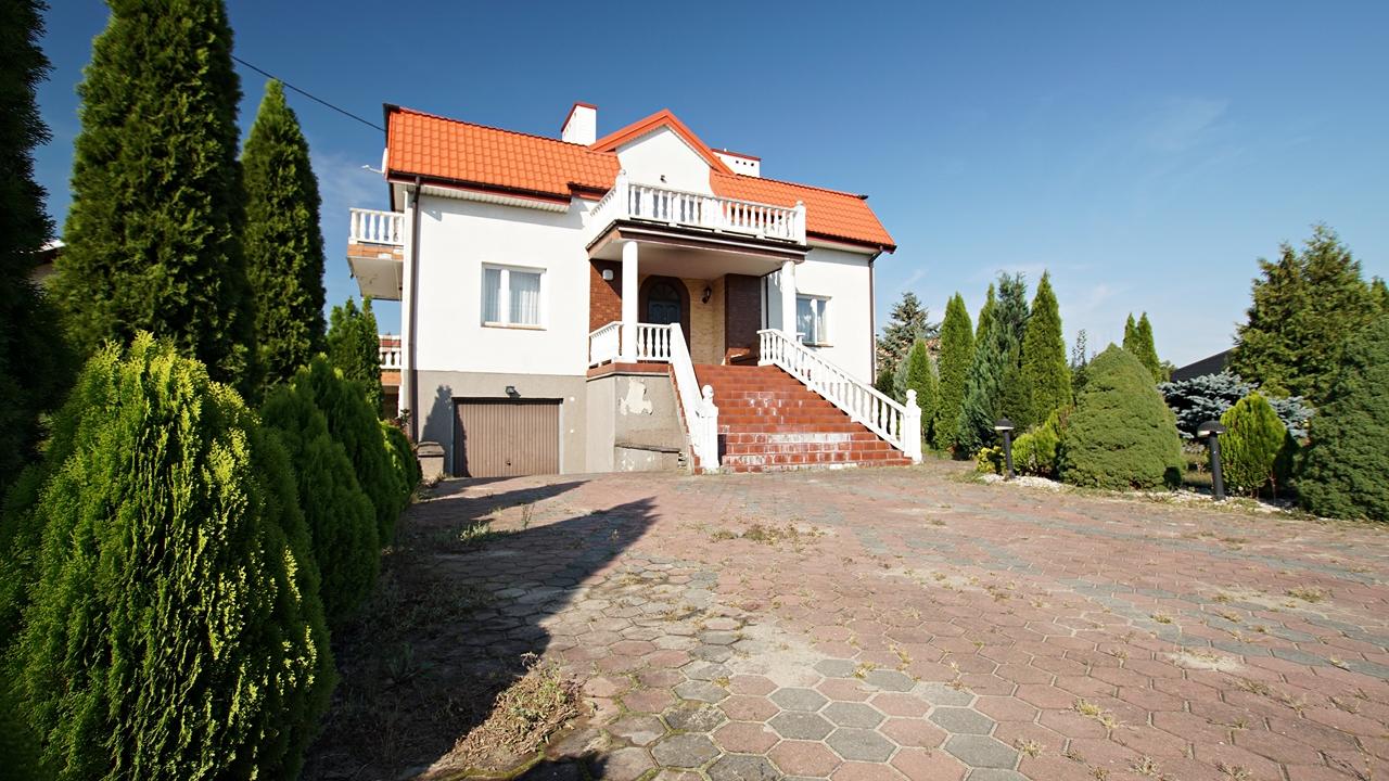Komfortowy dom w Borowiczkach Pieńkach.
